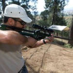 Herbe Monroy Jacobo D.V.M, From Mexico, Getting Ready To Dart A Deer Using A Dan-Inject JM Standard