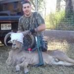 Alfonso Llaca Of Acutus Medicina Veterinaria Uses Dan-Inject Dart Guns