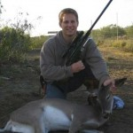 Colby Showing Tranquilized Doe