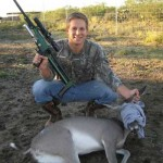 Colby Darting A Doe With A Dan-inject Rifle