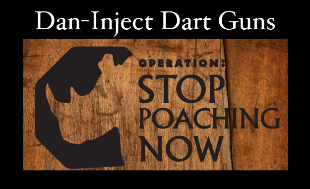 DanInject Dart Guns Used In Rhino Conservation